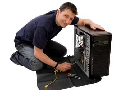 Picture showing Nuage onsite support technician